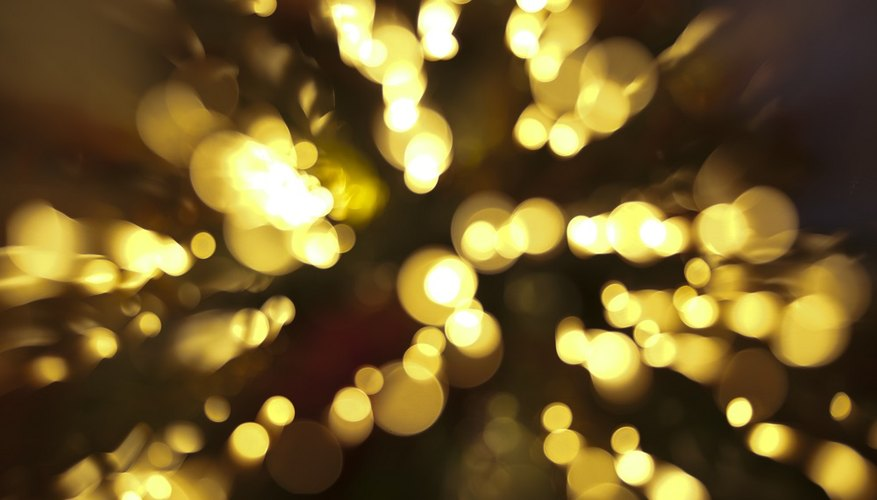 Christmas lights are marked indoor and outdoor for a reason.