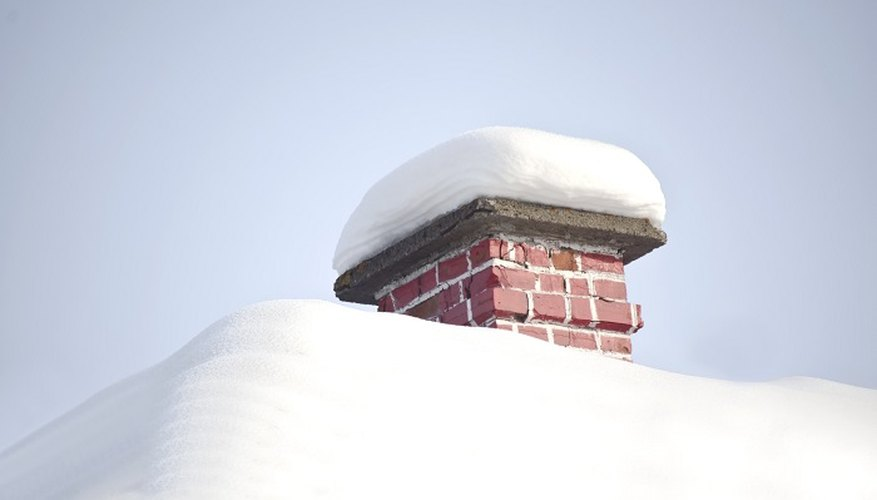 The impact of snow load can be dissipated through the use of steeply pitched roofs.