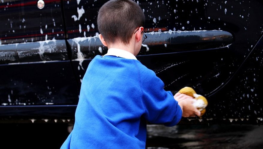 Get your child to wash your car if he wants to earn pocket money.