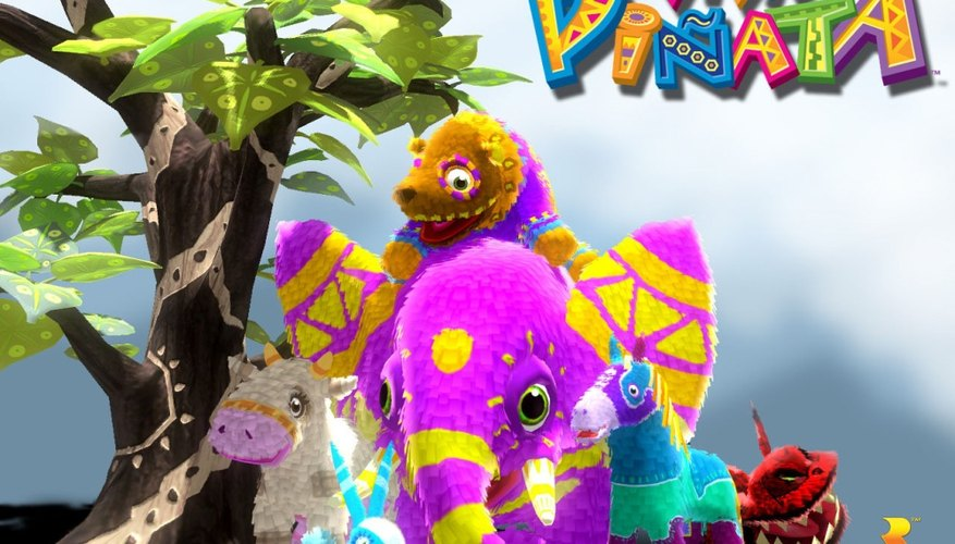Viva Pinata is popular with players of all ages.