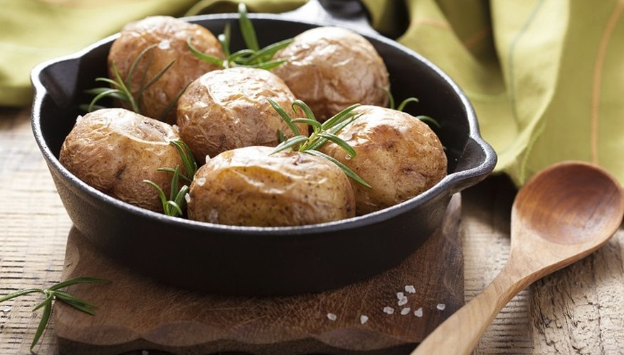 Proper storage will keep your cooked spuds fresh for days.