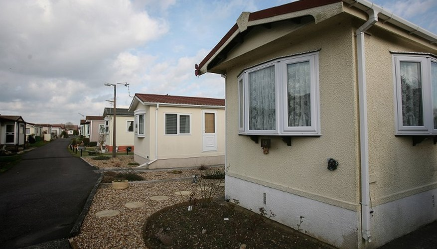 Thin walls on mobile homes allow heat to escape quickly.