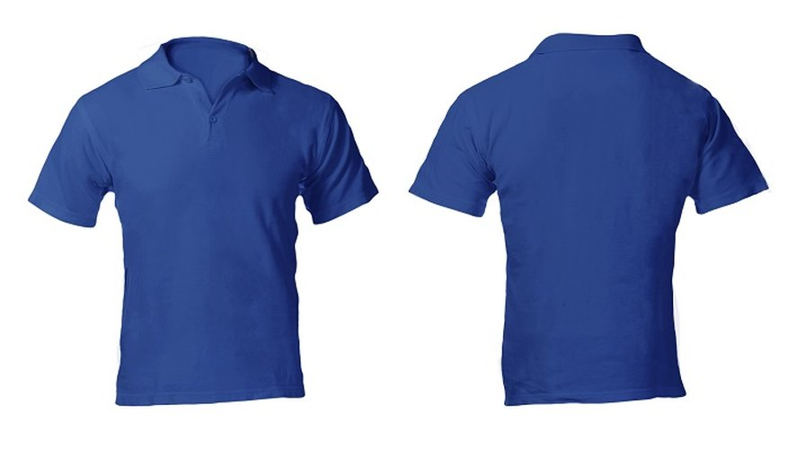 Shrink too-big cotton polo shirts down to a fitted size.