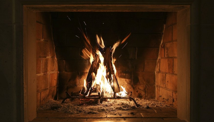 A brick hearth is an attractive, classic addition to any room with a wood stove or fireplace