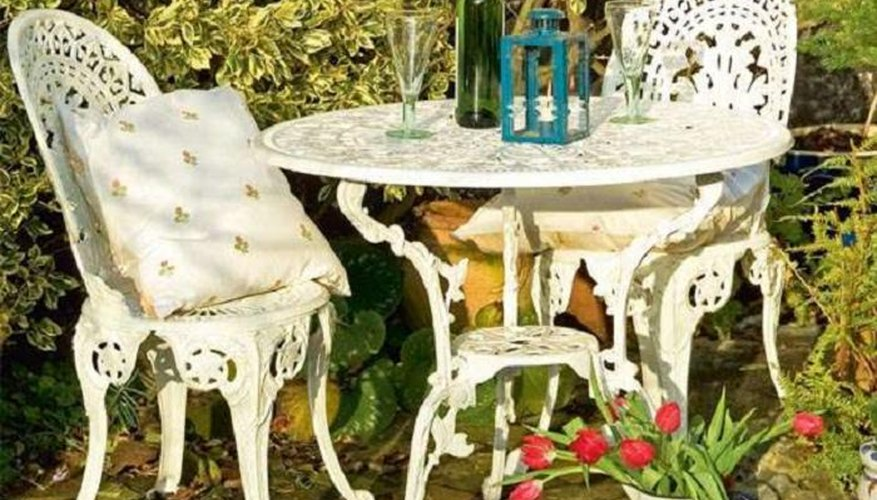Revive old patio furniture.
