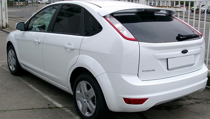 The Ford Focus.