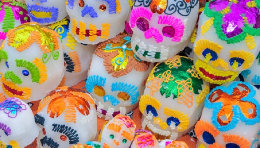 Despite the apparently gloomy focus, the Day of the Dead is a colourful occasion.