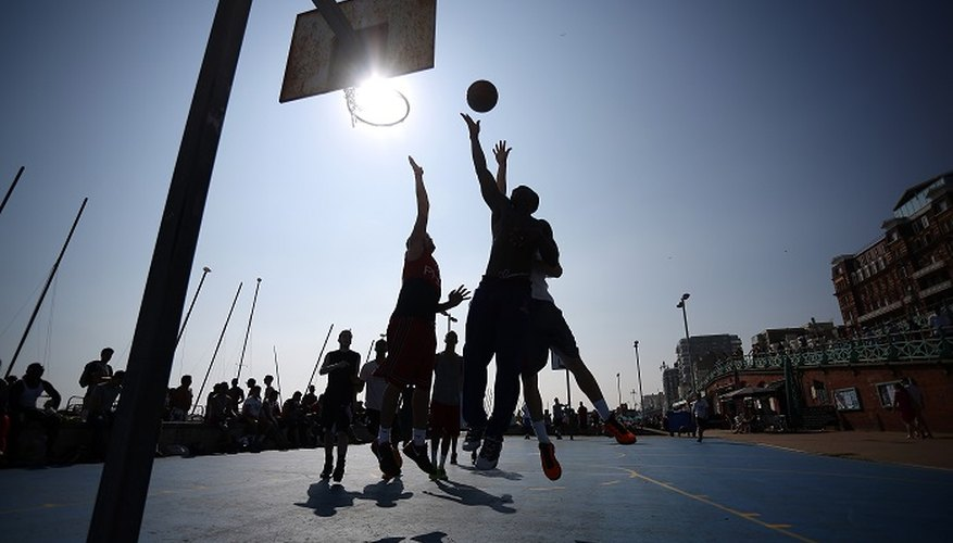 Beach basketball is popular in some of the UK's seaside resorts, including Brighton.