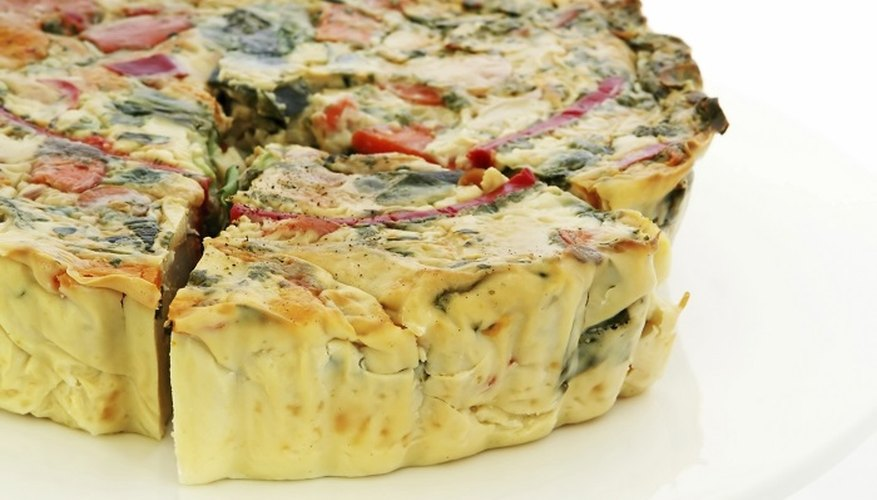 Enjoy quiche for brunch, lunch or dinner.