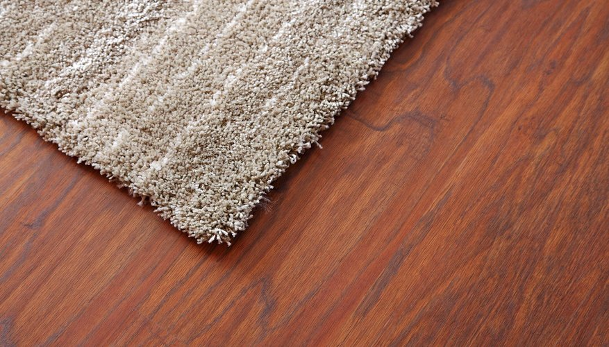 Area rugs can give nice accents to a room.