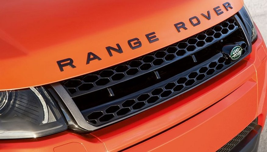 You'll find the Range Rover's VIN under the bonnet.