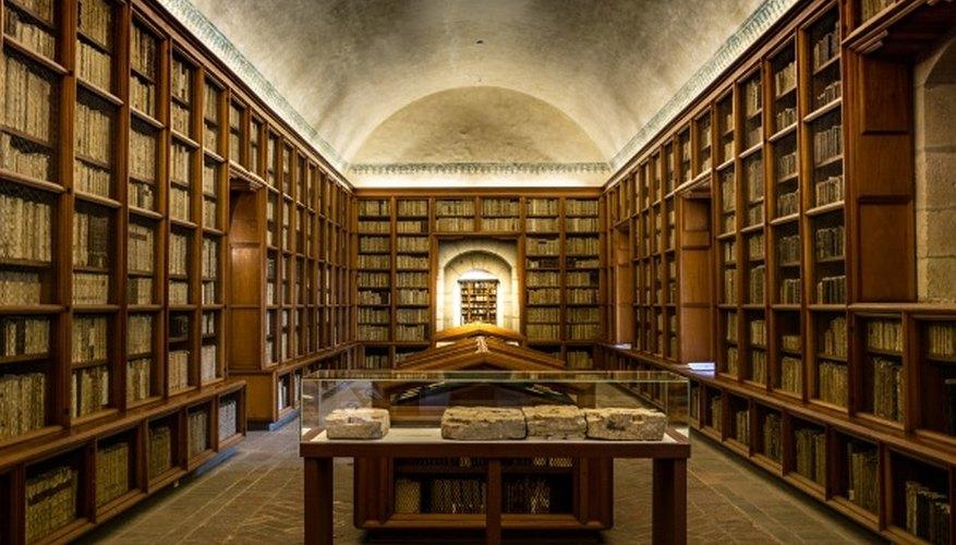 Brown wooden bookshelves.jpg
