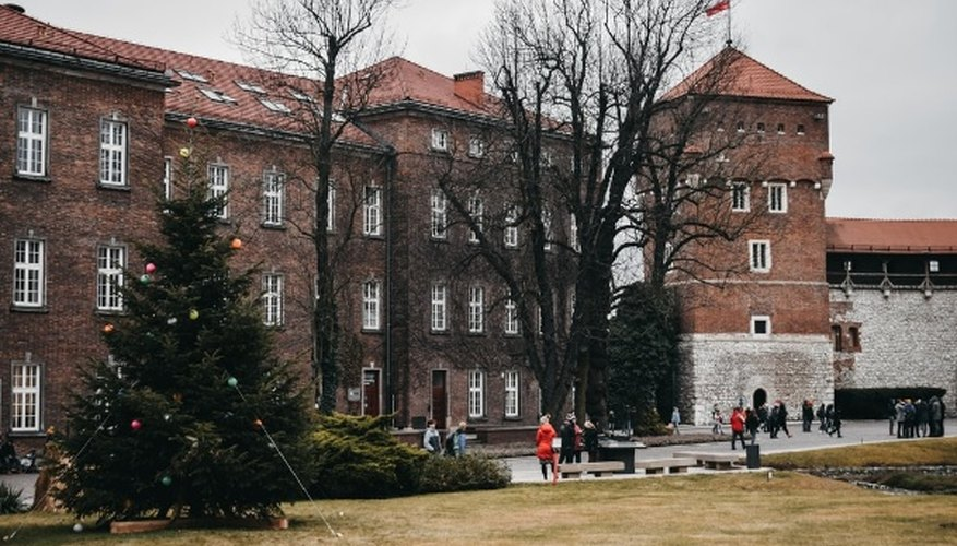 Person walking near the brown building.jpg