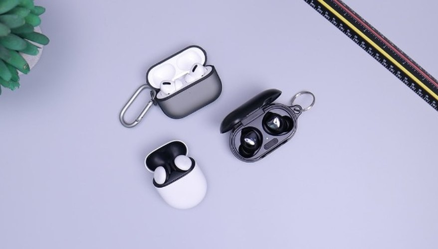 Black and white headphones on white table.jpg