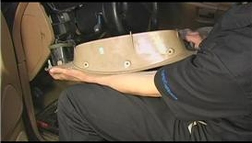 Reinstalling Dashboard Cover Bezel