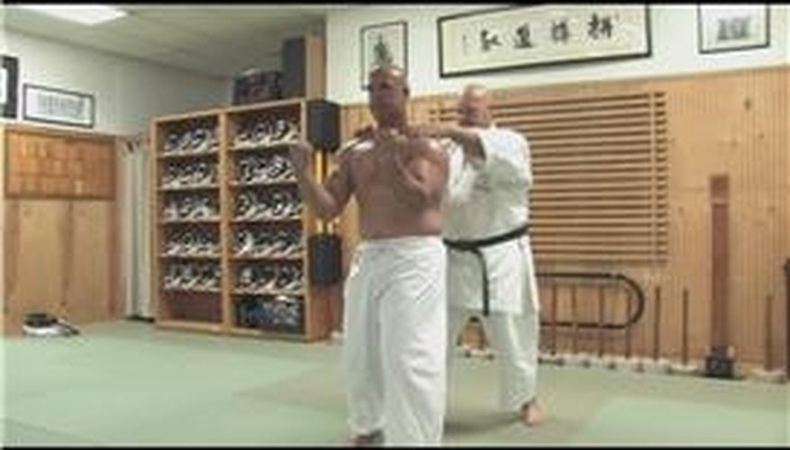Testing Breathing Kata in Okinawan Karate