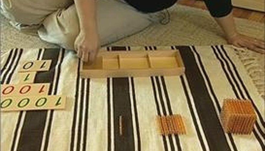 Tray & Card Montessori Math Activity