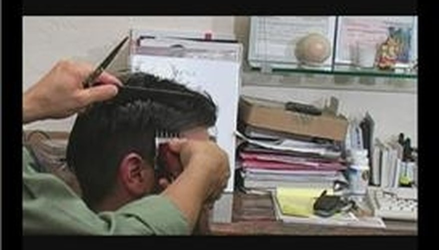 Using Number 3 Hair Clippers for Men's Haircuts