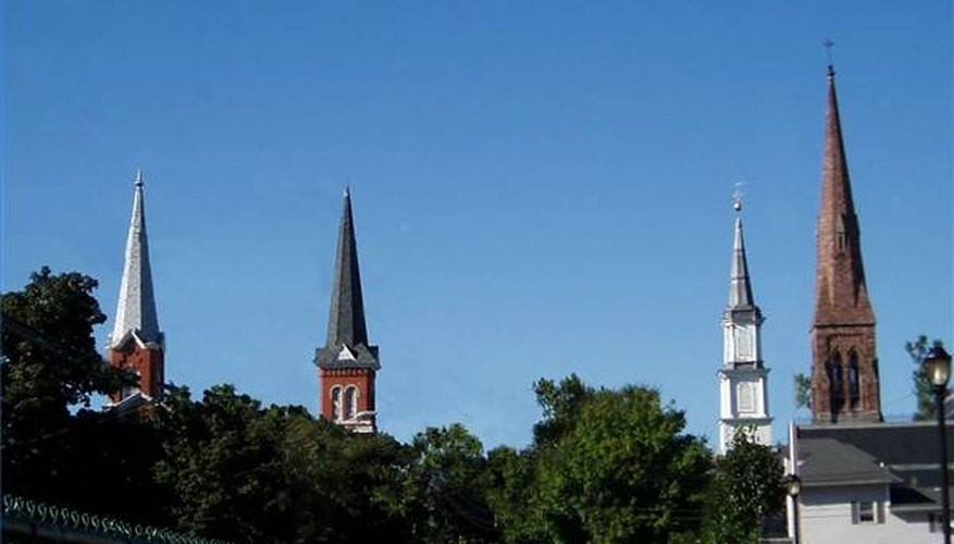 What Is the Origin of Church Steeples?