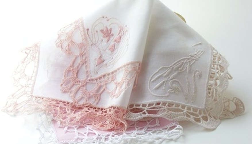 Handkerchiefs can double as attractive accessories.