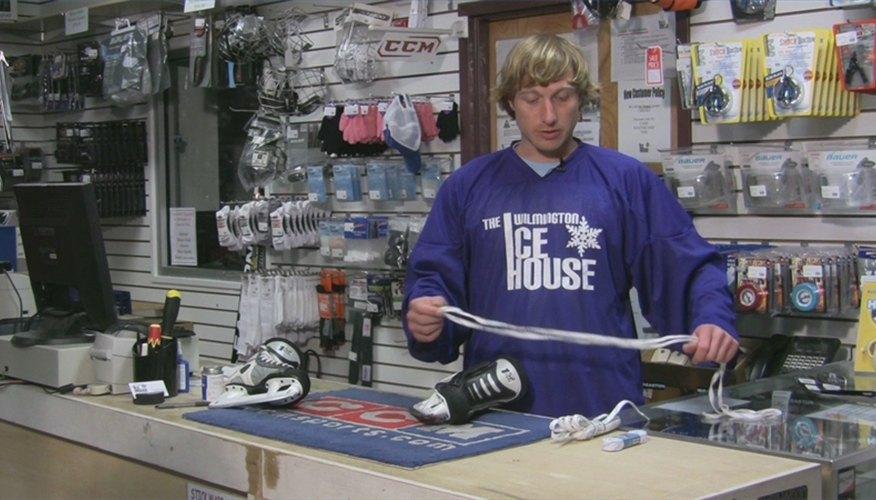 How to Lace Hockey Skates Properly