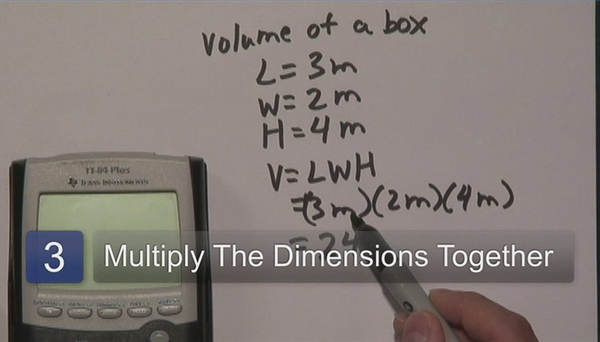 How to Calculate Cubic Meters