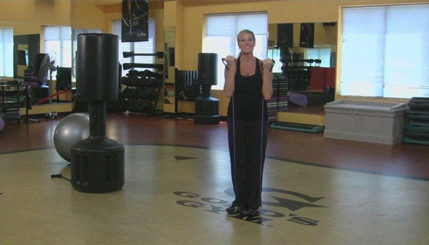 Leg Exercises Using Resistance Bands