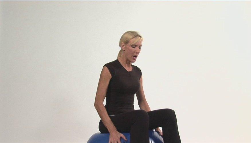 Stability Ball Balance Exercises