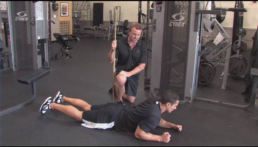 Pilates and Ab Exercises for Men