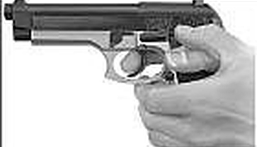 How to Load a Semi-Automatic Handgun