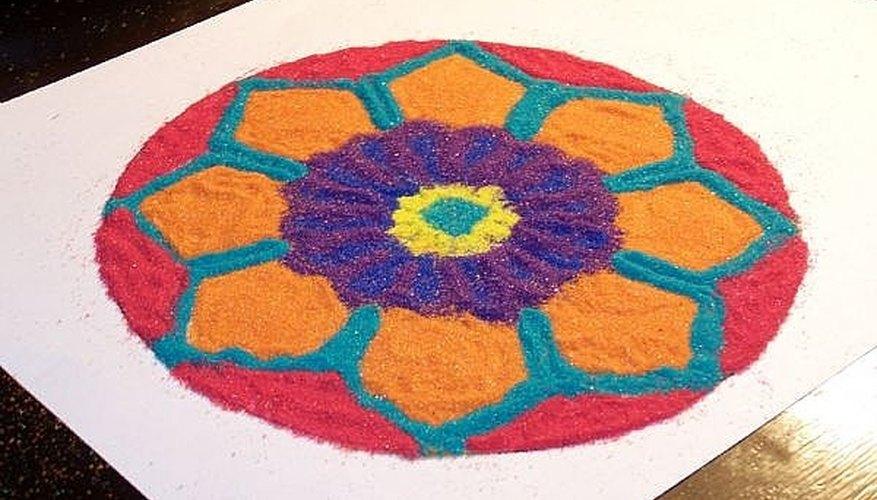Mandalas help people experience mindfulness and creativity.