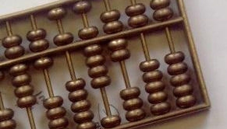 How To Use A Chinese Abacus Sciencing
