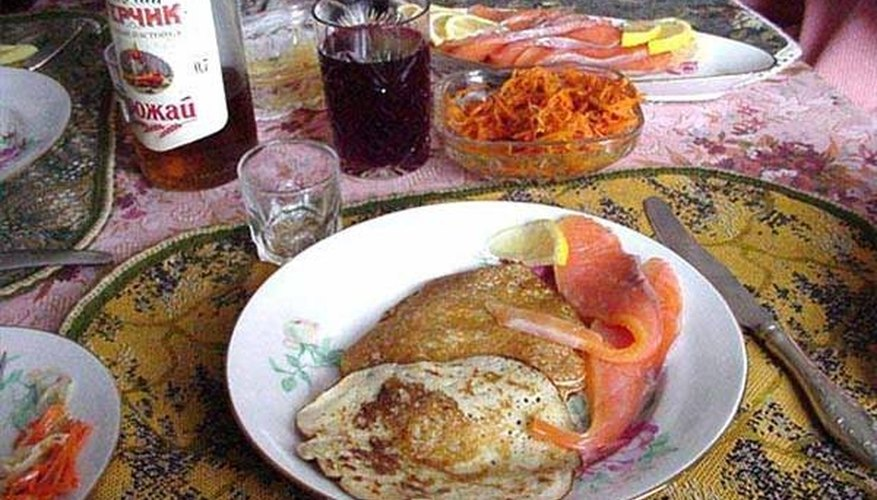 What Are the Staple Foods of Russia?