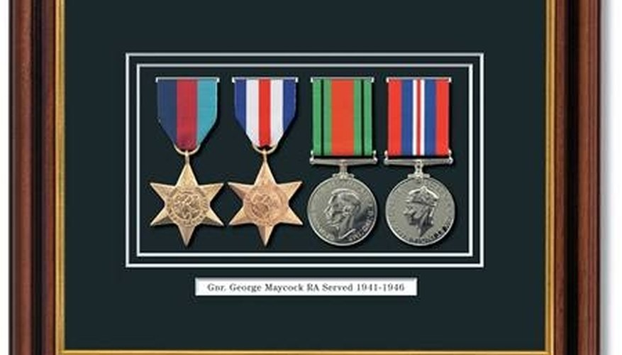 World War II Military Medals