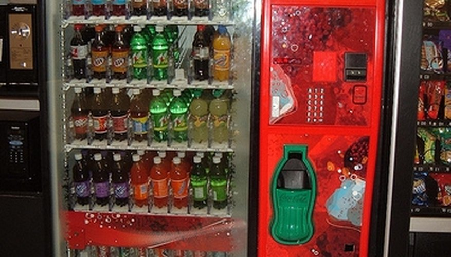 Coca-Cola machines today offer a variety of drinks