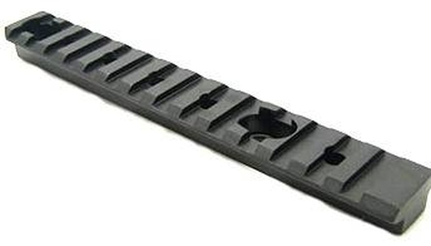 Picatinny rail for a rifle