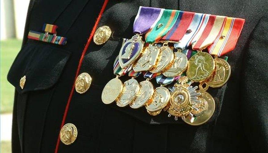 Marine Corps Medal Rack