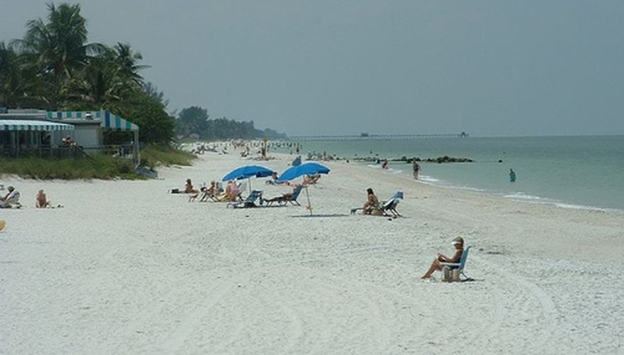 Southwest Florida offers calm and quiet beaches.