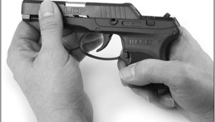 Remove the Slide From the Frame of the Ruger LCP