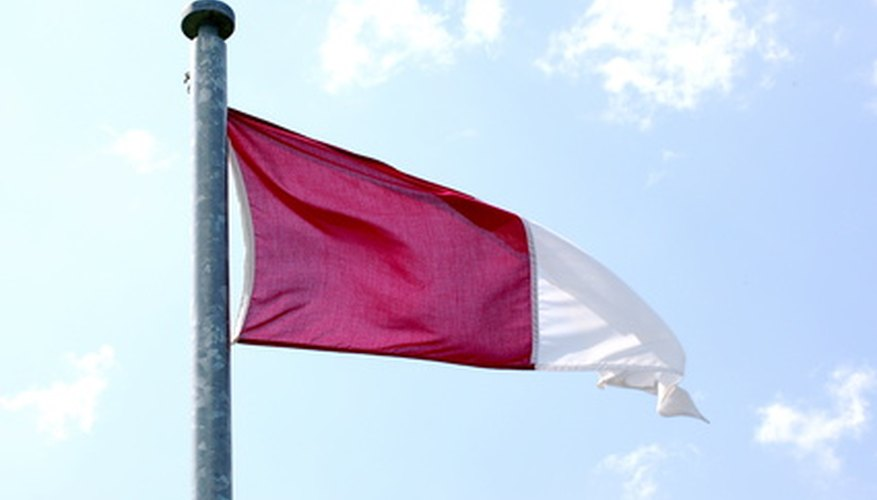 A simple design like this Galway pennant always looks good.