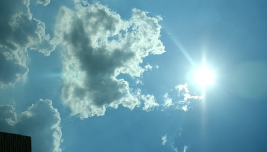 Clouds are rare at NTC and offer little protection against extreme sun exposure.