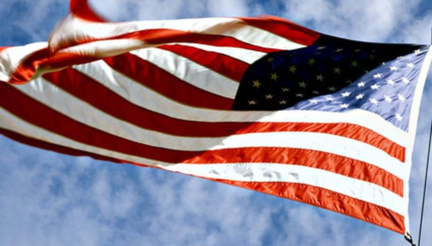 Hoisting the U.S. flag correctly is important.