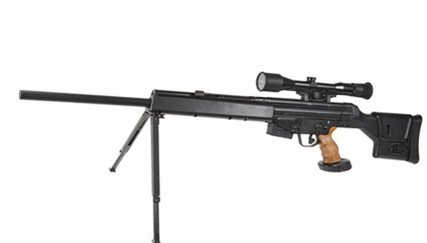 Sighting in your rifle with the target turrets assures that it is accurate.
