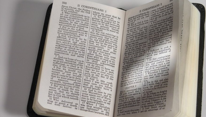 The Gideons place Bibles in hotels worldwide.