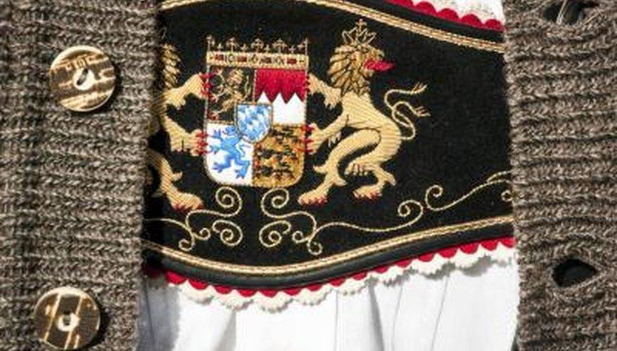 Traditional garments.