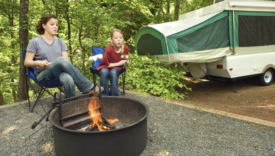 How to Restore a Pop-Up Camper Trailer