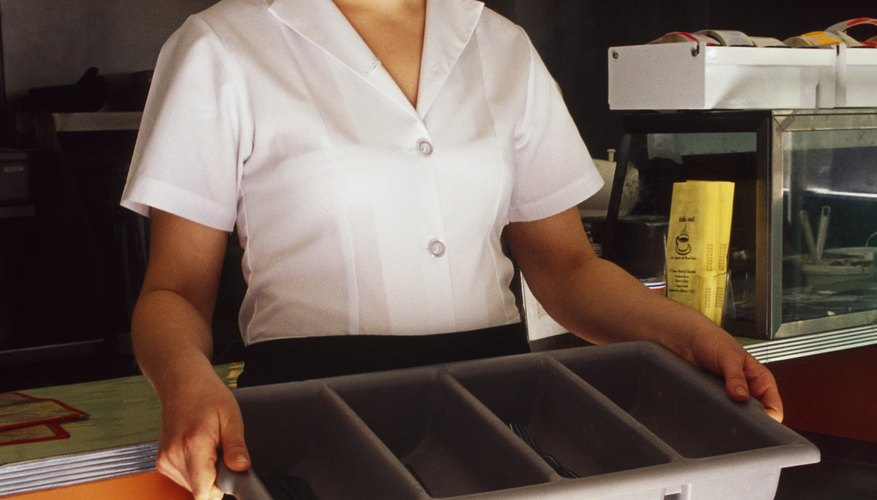 A cafeteria aide holds several roles.