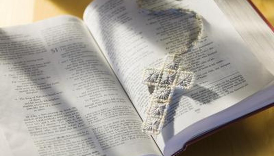 Bible lesson ideas for Christian camp.
