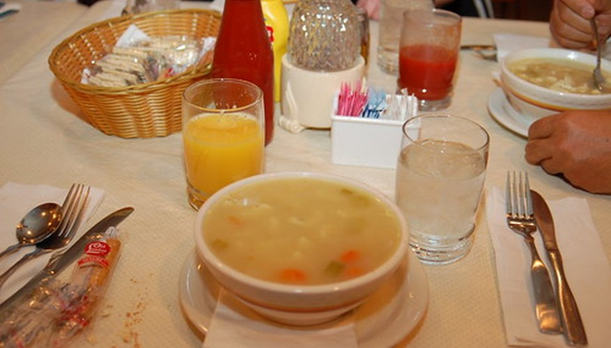 Chicken soup made with chicken bones, feet and tendons is a good source of hyaluronic acid.