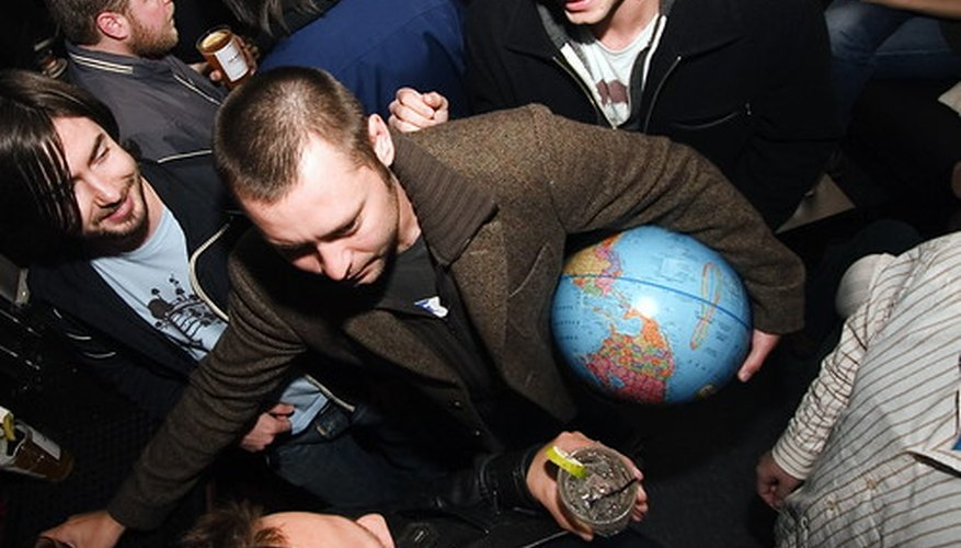 Mundo globalizado.